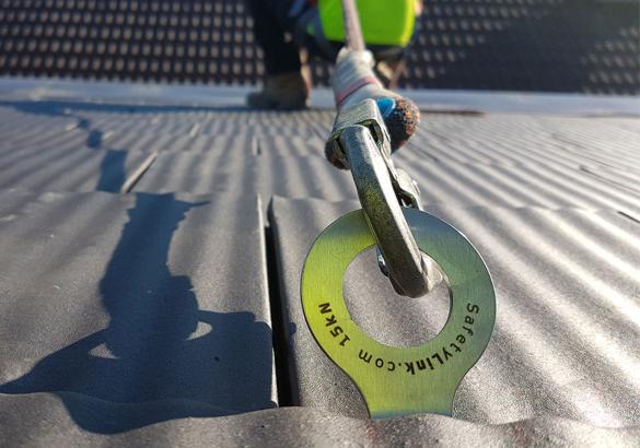 SafetyLink TileLink - Anchor Close Up