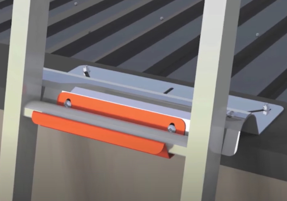 KATT - Ladder Bracket - Parapet Mounted